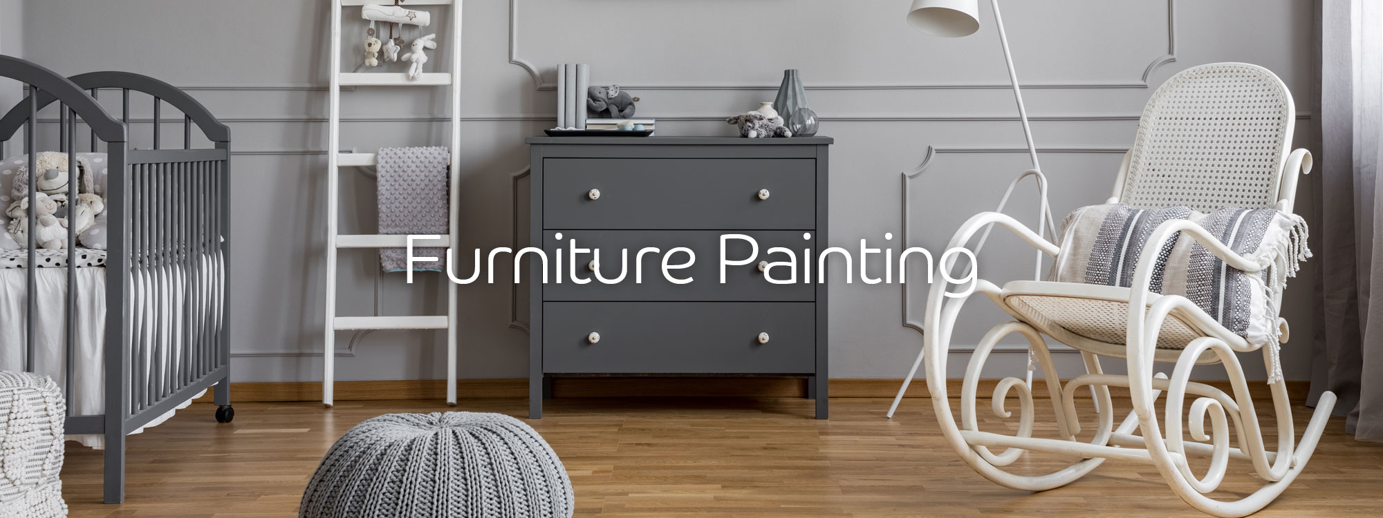 Furniture freshly painted in Exeter